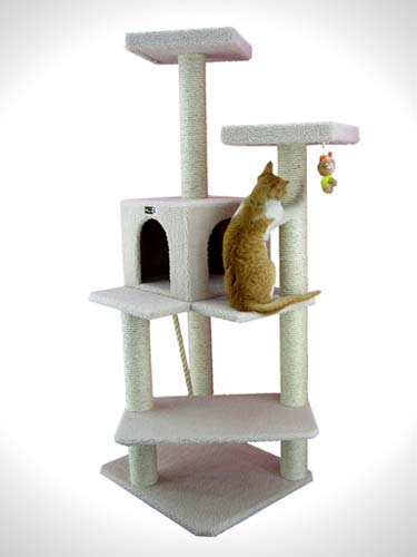 Armarkat Cat tree Furniture Condo Height 50-Inch to 60-Inch
