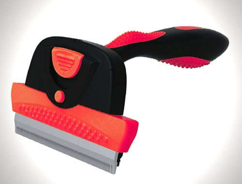 FurMaster Deshedding Brush for Small, Medium and Large Cats and Dogs with Short or Long Hair