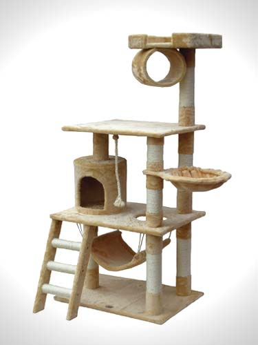 Go Pet Club Cat Tree Furniture- cat condos for large cats