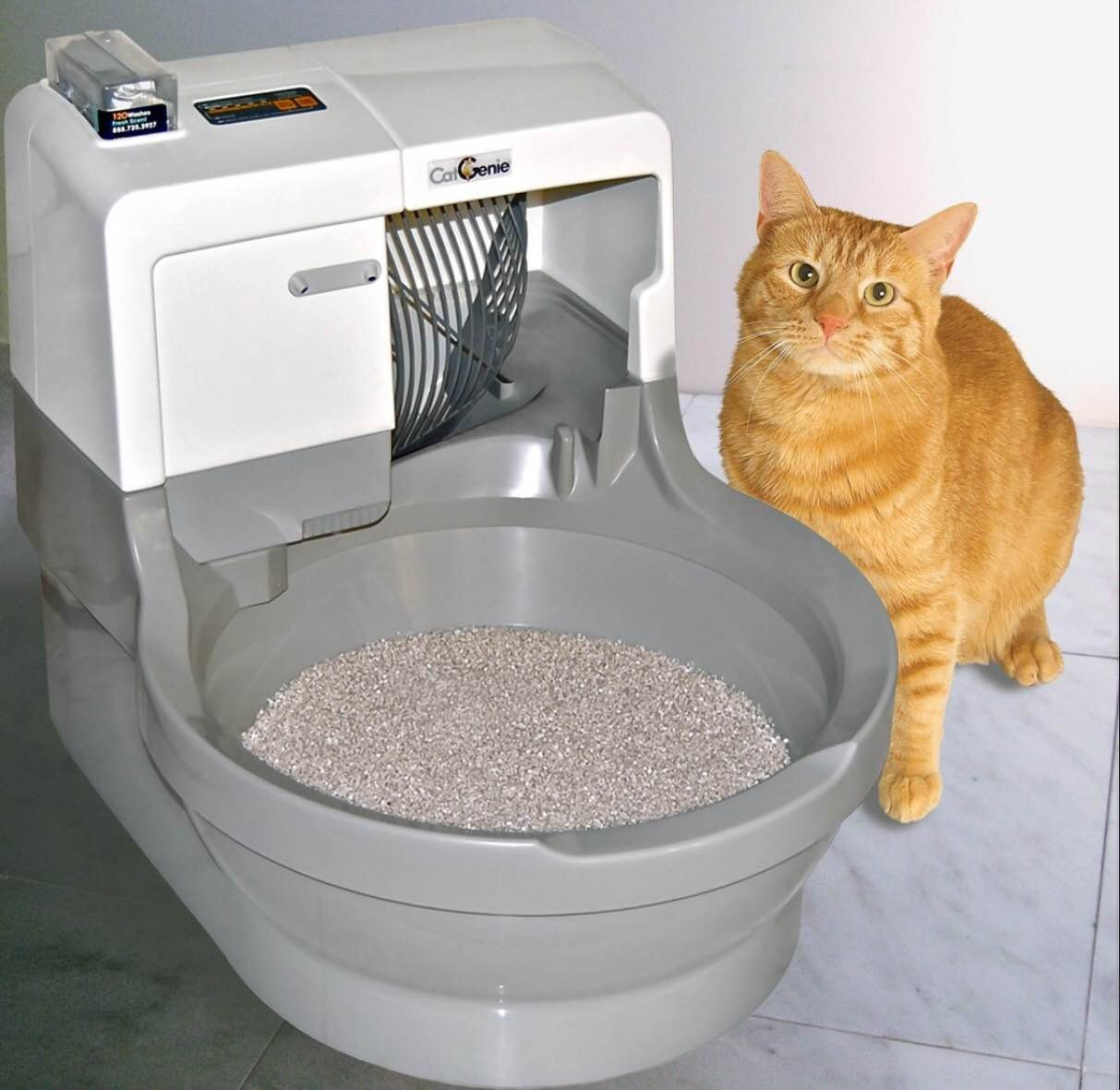 CatGenie - The World s Only Self-Flushing Self Washing Cat Box