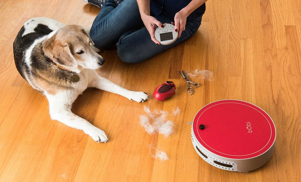 Bobi Robot Vac For Dog Cat Min