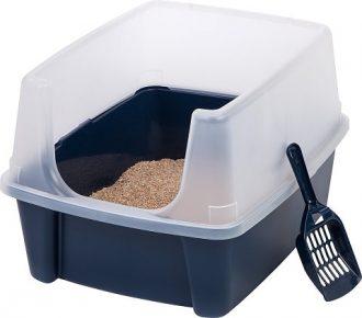 iris open top cat litter box review