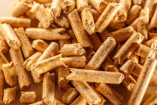 Paper pellets litter
